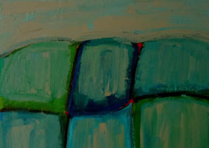 STONE WALL. ACRYLIC ON CANVAS