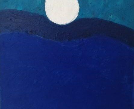 RIDE THE WAVE. ACRYLIC ON CANVAS. SOFIA BURY